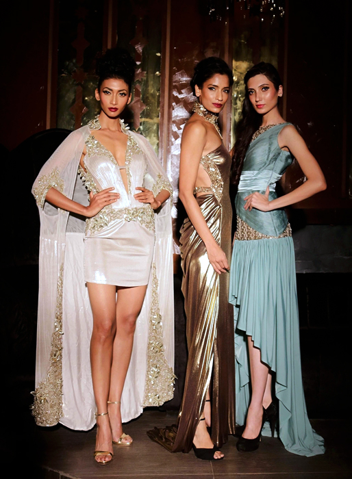 Fashion: Evening gowns by Lalit Dalmia