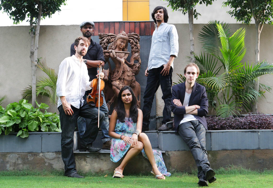 REDDY FOR HOLLYWOOD MUSIC : Bhavna's music band