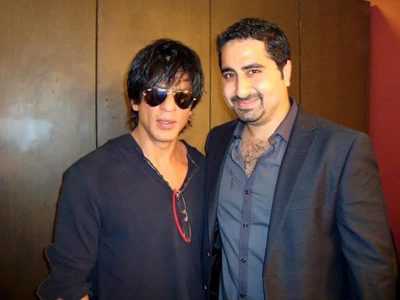 DJ Khushi with SRK