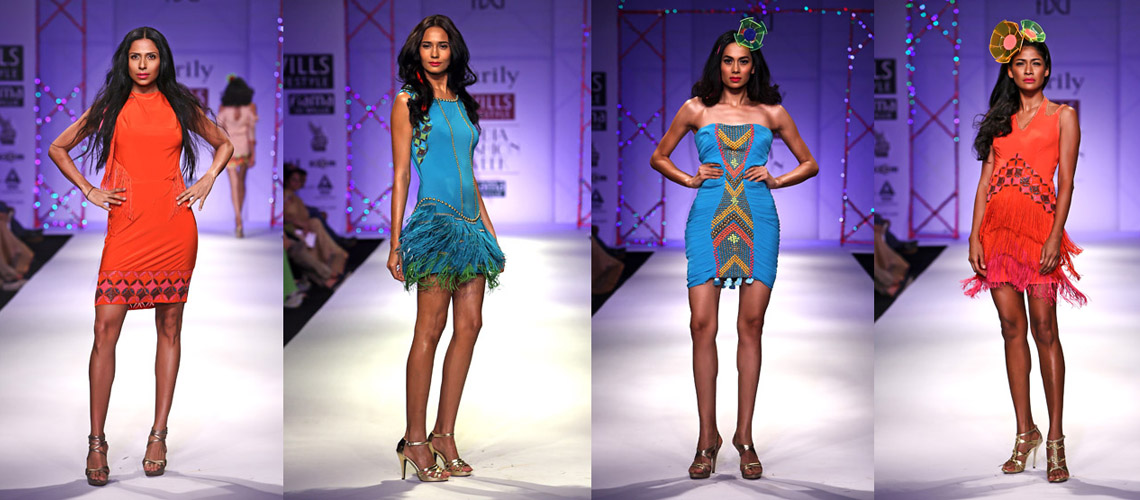 Bollywood fashion designer Surily Goel's Party Collection