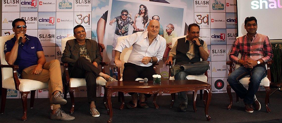 Akshay Kumar upcoming comedy movie - The Shaukeens