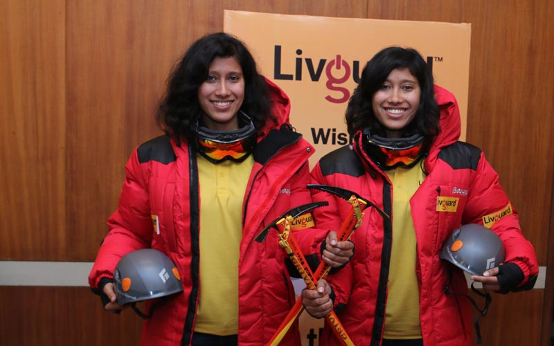 Everest Twins bring pride to India