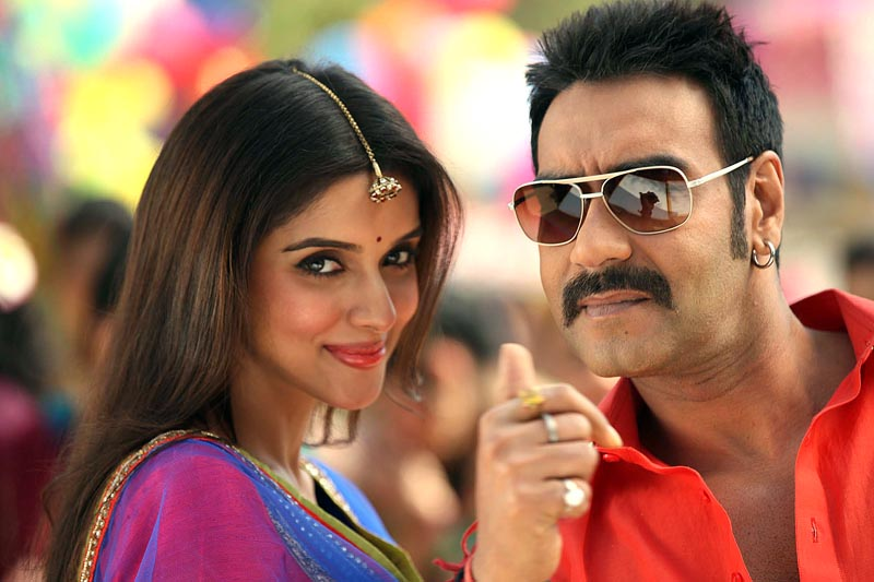 Asin and Ajay Devgn