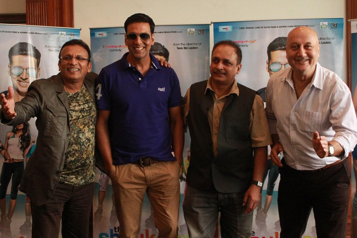 Annu Kapoor, Akshay Kumar, Piyush Sharma & Anupam Kher (Copy)