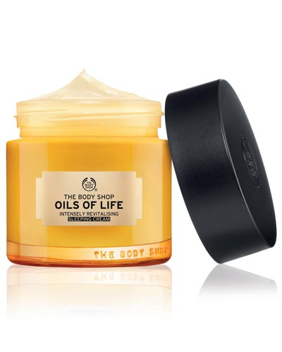 body shop oils of life beauty