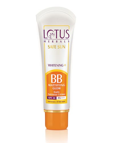 lotus whitening bb cream beauty