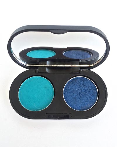 SEASOUL COSMETICS Ayeshadows in Bluish Green and Electric Blue beauty