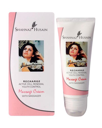 SHAHNAZ HUSAIN R.E.C.H.A.R.G.E. Active Cell Renewal Youth Control Massage Cream beauty