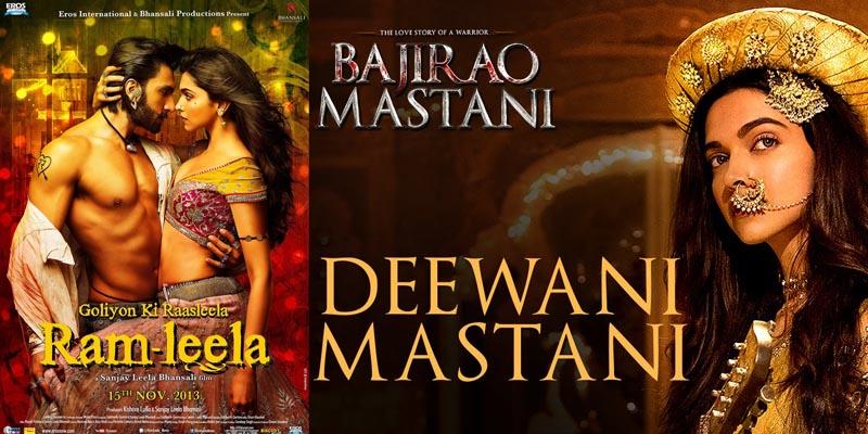 bollywood Deepika Padukone Bajirao Mastani and Ram Leela