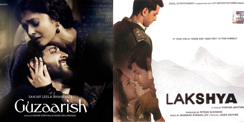bollywood Hrithik Roshan Guzaarish and Lakshya