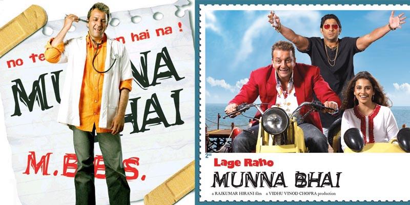 bollywood Sanjay Dutt Munna Bhai MBBS and Lago Raho Munna Bhai