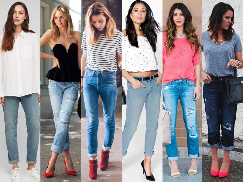 denims boyfriend jeans