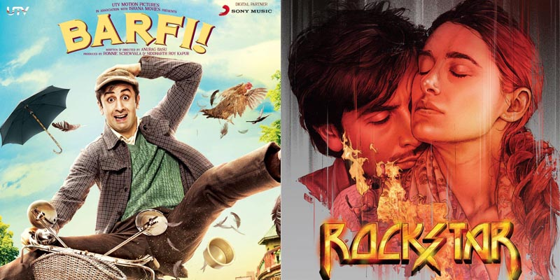 bollywood Ranbir Kapoor Rockstar and Barfi