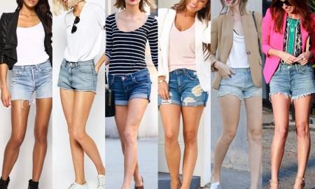 denims shorts